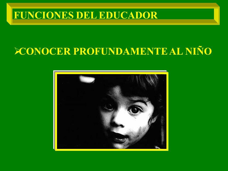 FUNCIONES DEL EDUCADOR