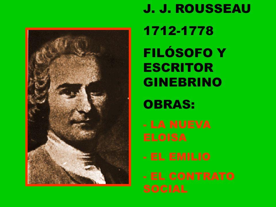 FILÓSOFO Y ESCRITOR GINEBRINO