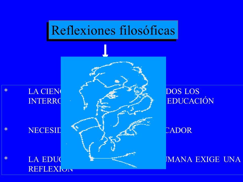 Reflexiones filosóficas