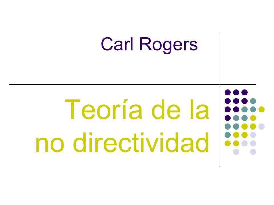 Teoría de la no directividad
