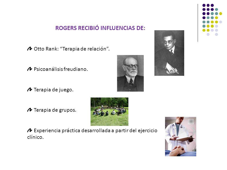 ROGERS RECIBIÓ INFLUENCIAS DE: