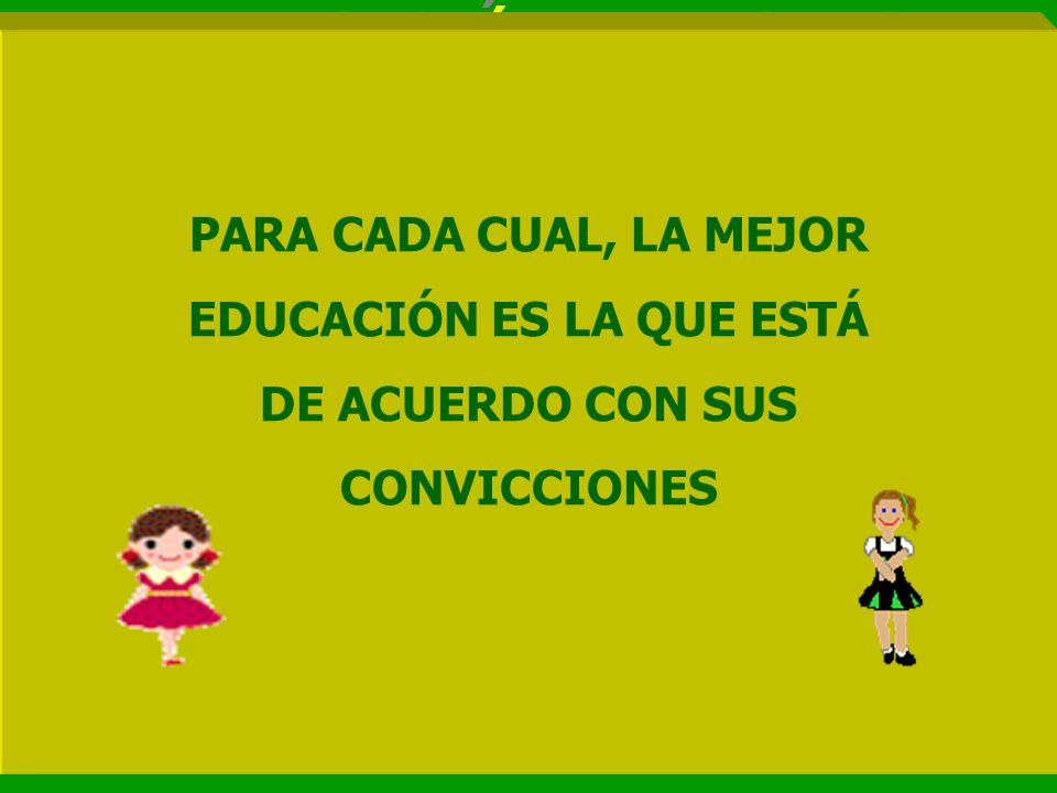 EDUCACIÓN ES LA QUE ESTÁ