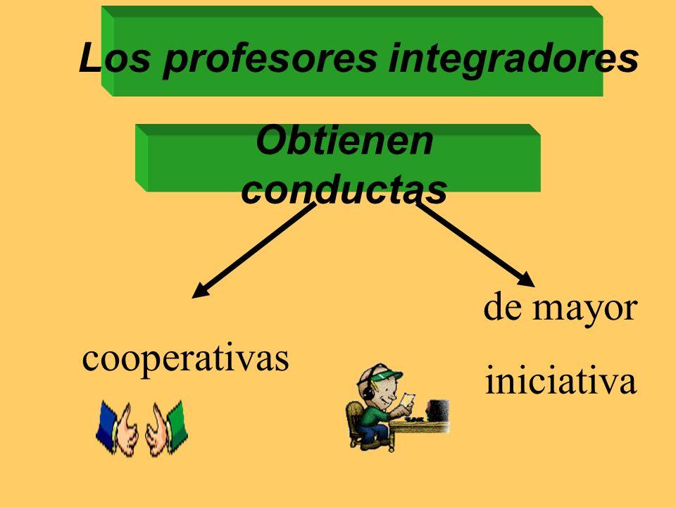 Los profesores integradores