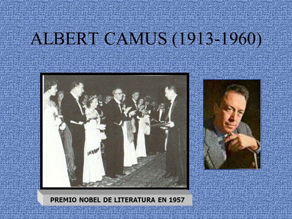 PREMIO NOBEL DE LITERATURA EN 1957