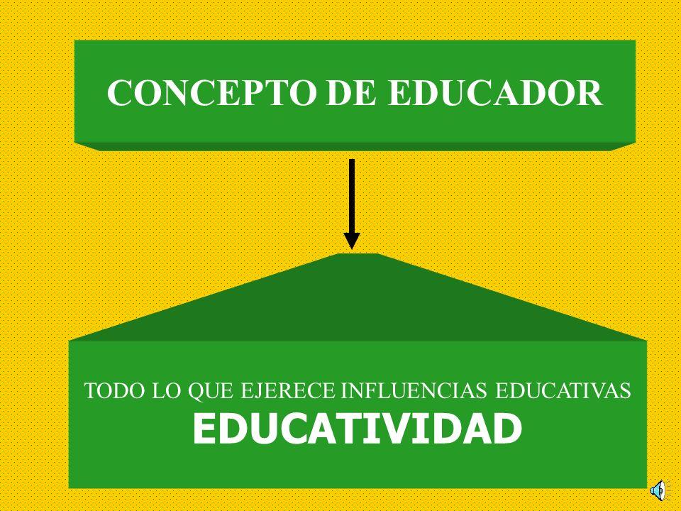TODO LO QUE EJERECE INFLUENCIAS EDUCATIVAS