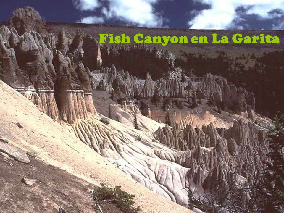Fish Canyon en La Garita
