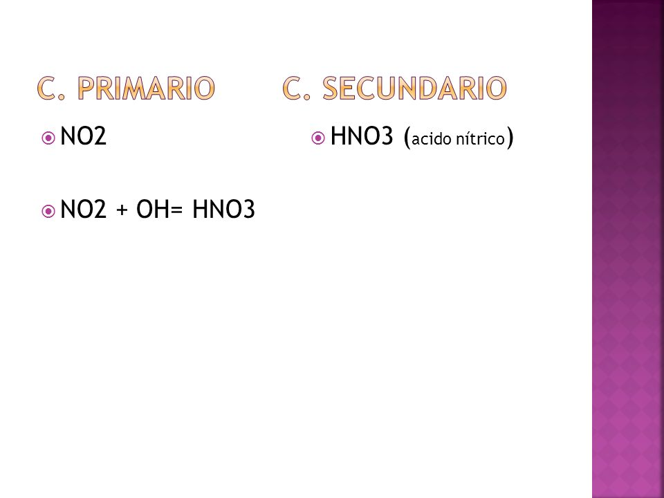 C. Primario c. secundario