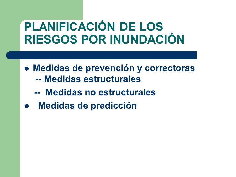 PLANIFICACIÓN DE LOS RIESGOS POR INUNDACIÓN