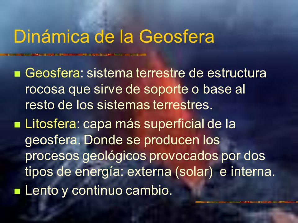 Dinámica de la Geosfera