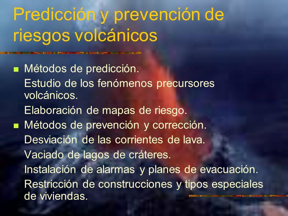 Predicción y prevención de riesgos volcánicos