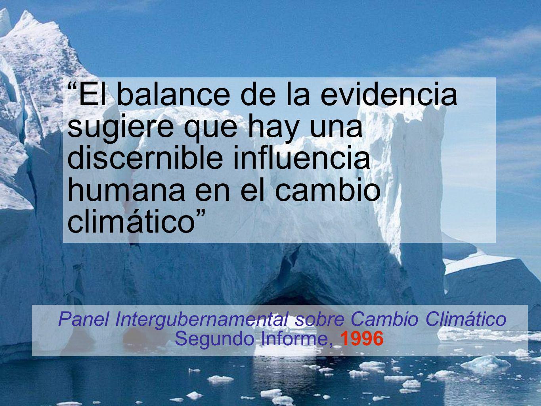 Panel Intergubernamental sobre Cambio Climático Segundo Informe, 1996