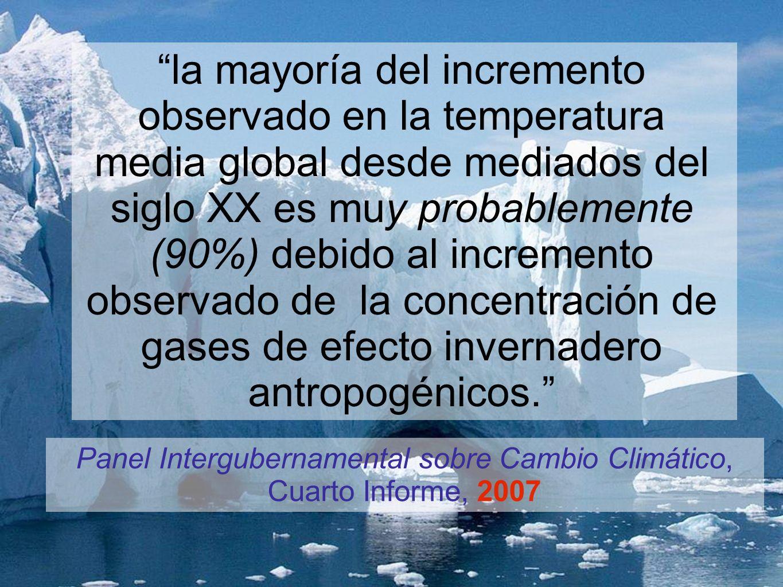 Panel Intergubernamental sobre Cambio Climático, Cuarto Informe, 2007