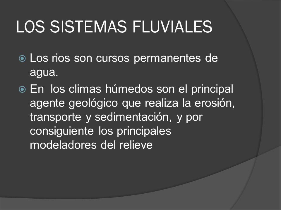 LOS SISTEMAS FLUVIALES