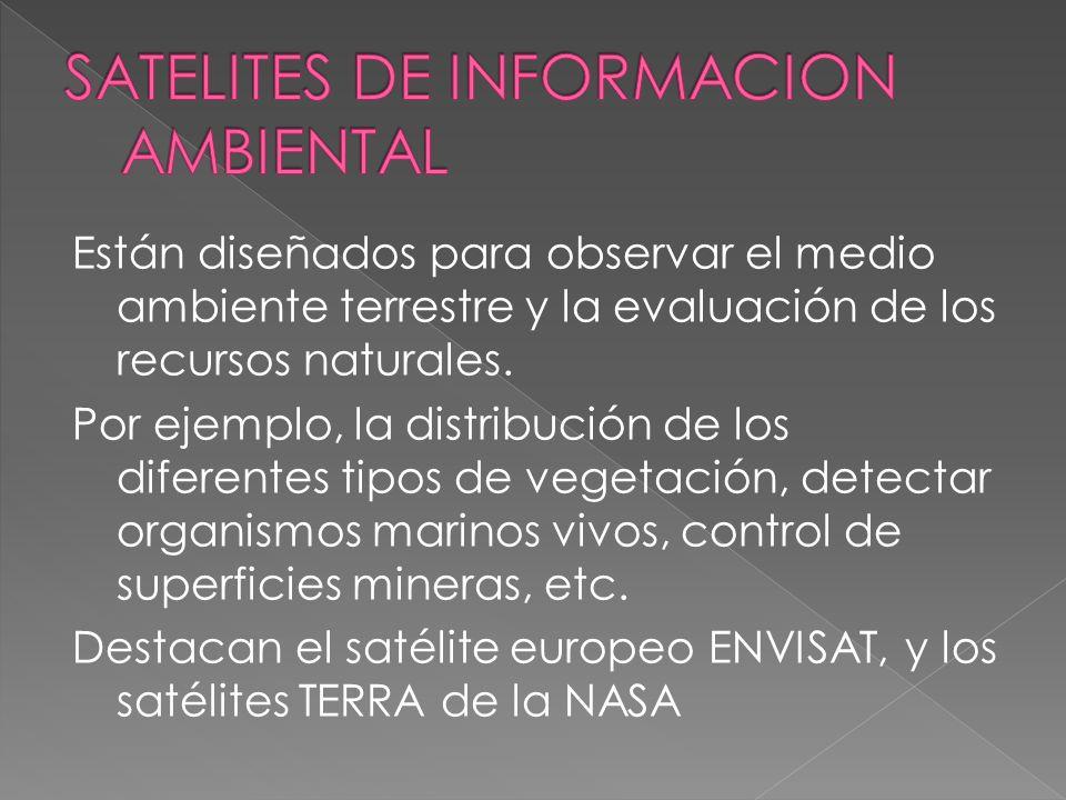 SATELITES DE INFORMACION AMBIENTAL