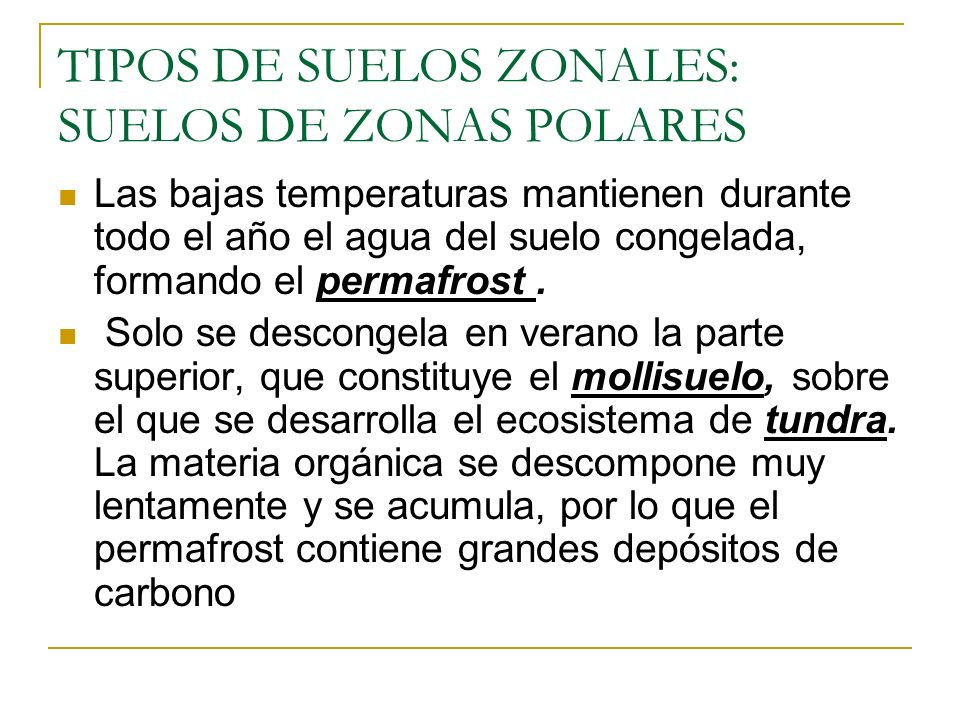 Suelos zonales y azonales ppt video online descargar for Suelos y tipos de suelos