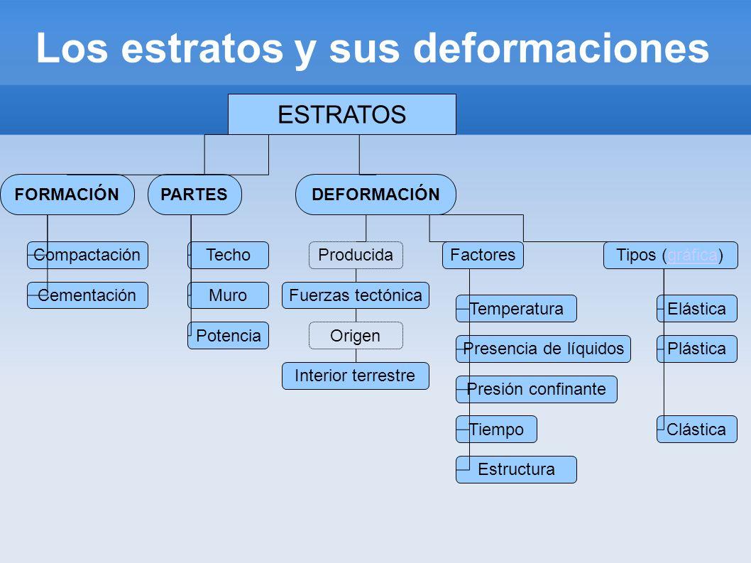 Los estratos y sus deformaciones