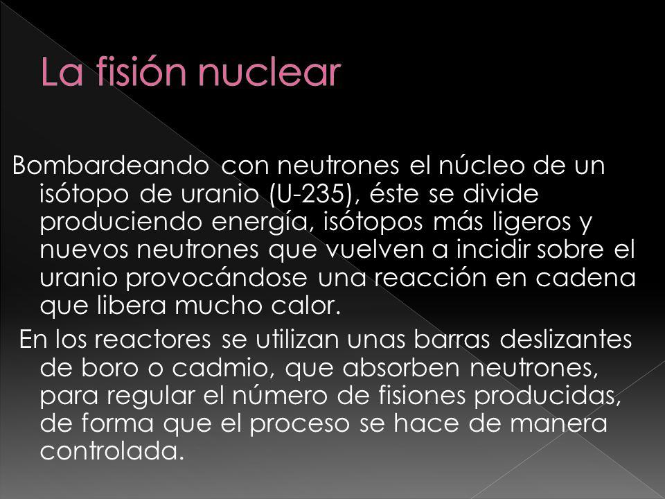 La fisión nuclear