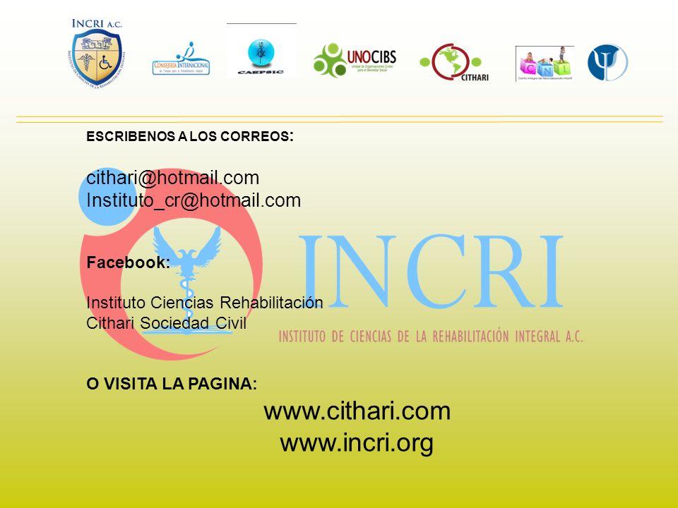 www.cithari.com www.incri.org cithari@hotmail.com
