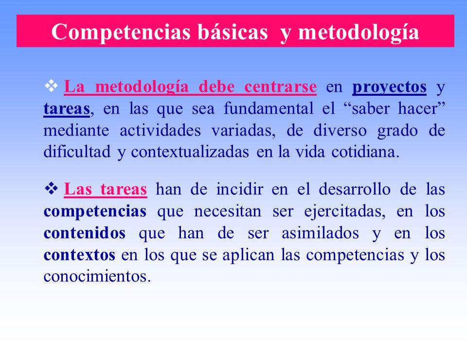 Competencias básicas y metodología