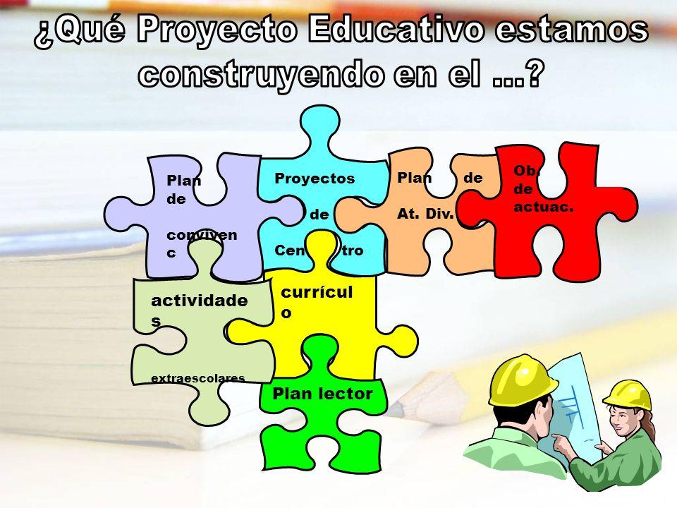 ¿Qué Proyecto Educativo estamos