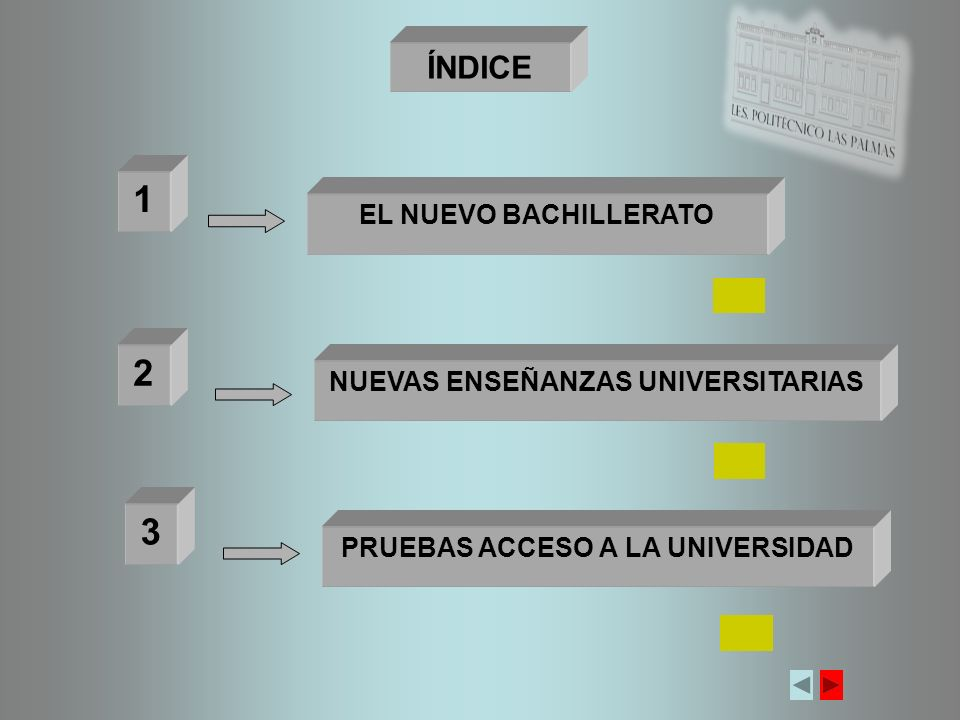NUEVAS ENSEÑANZAS UNIVERSITARIAS PRUEBAS ACCESO A LA UNIVERSIDAD