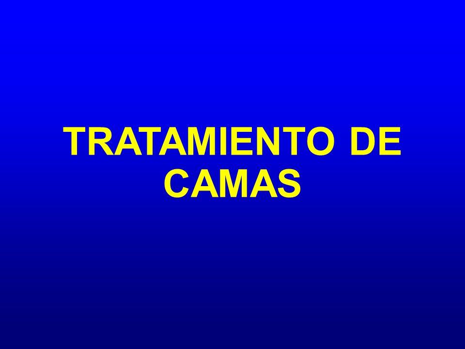 TRATAMIENTO DE CAMAS
