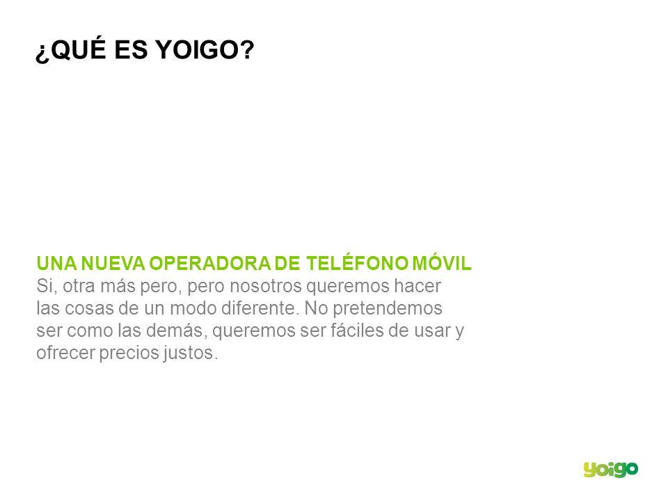 ¿QUÉ ES YOIGO UNA NUEVA OPERADORA DE TELÉFONO MÓVIL