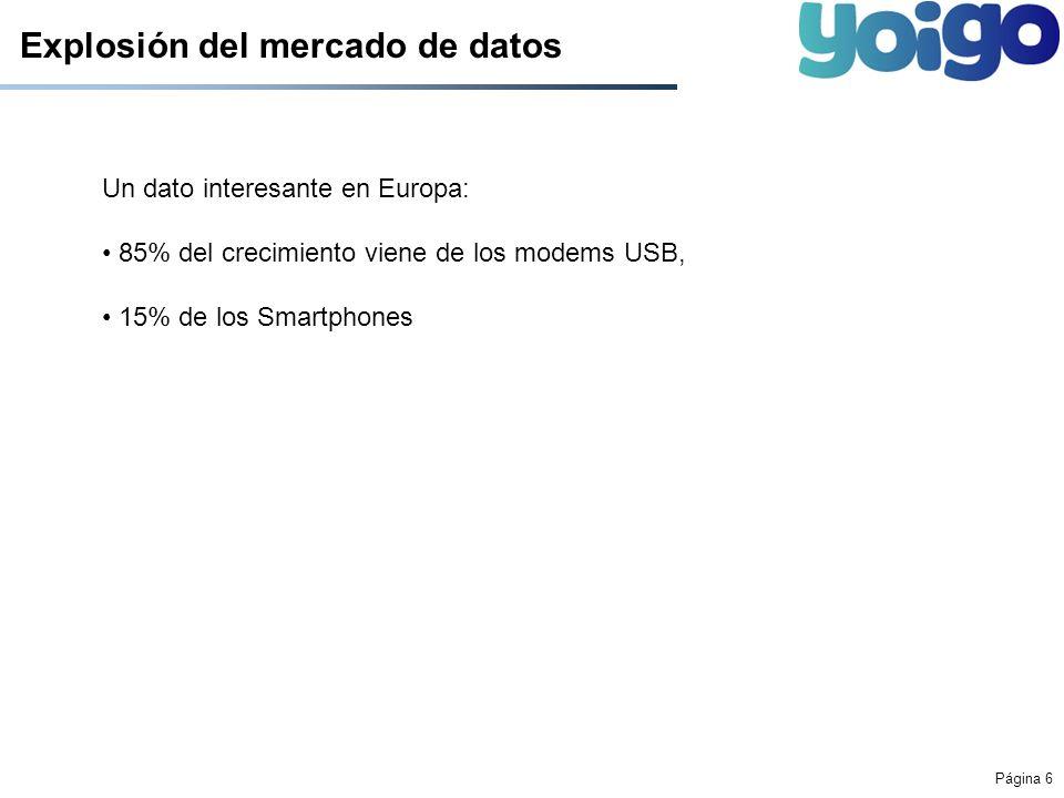 Explosión del mercado de datos