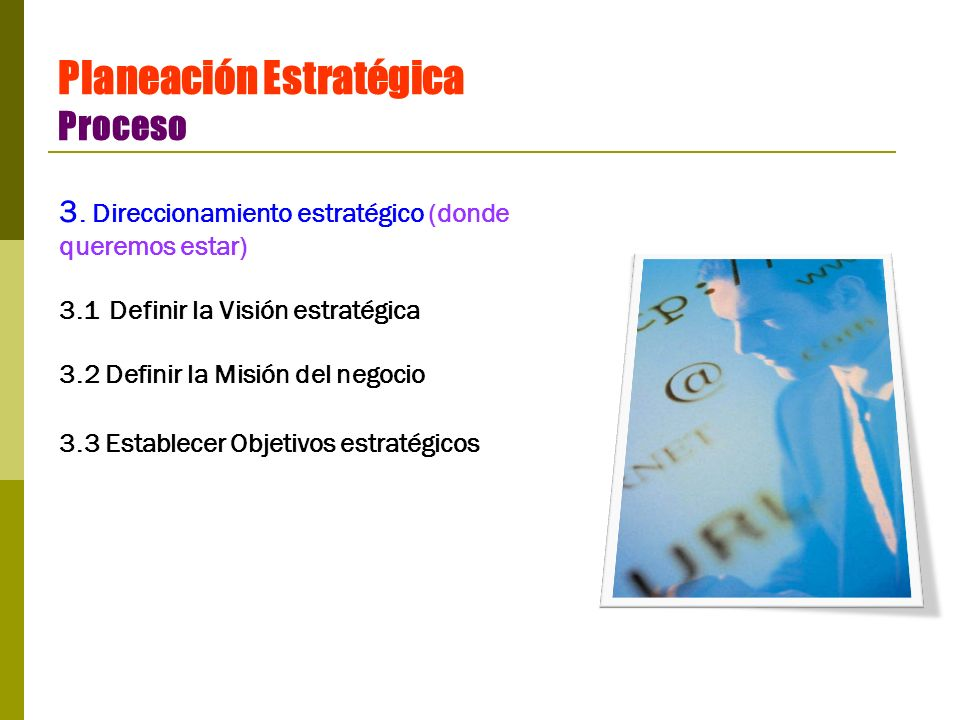 Planeación Estratégica Proceso