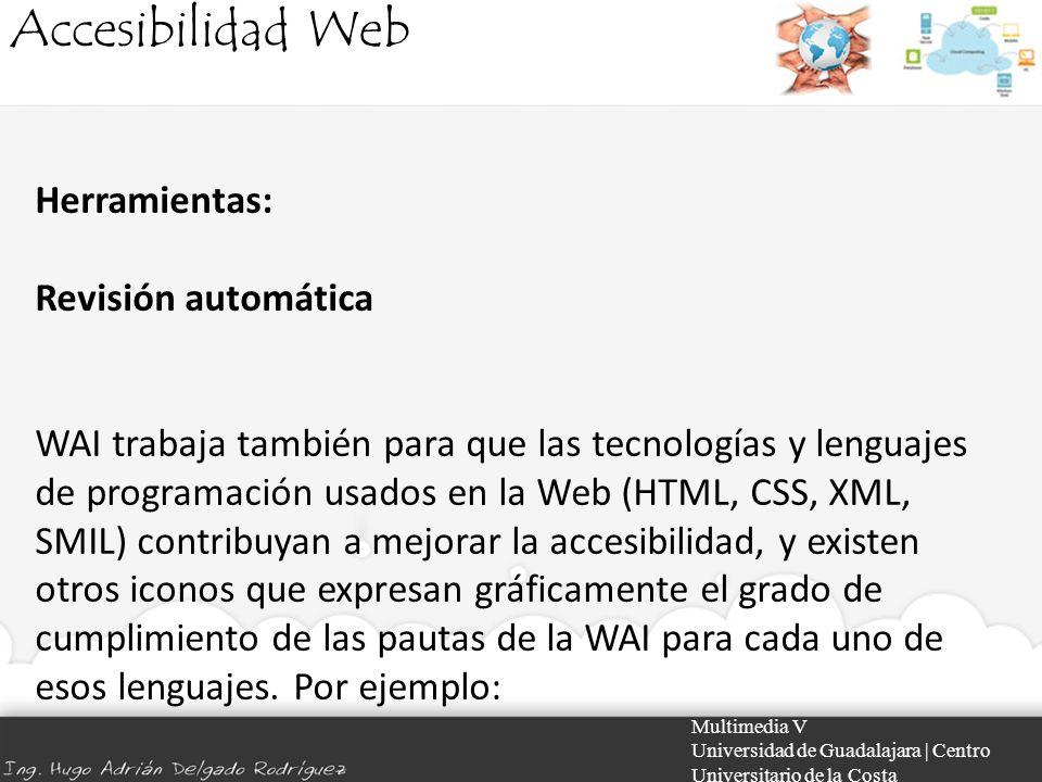 Accesibilidad Web Herramientas: Revisión automática