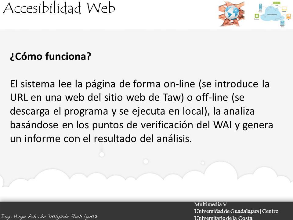 Accesibilidad Web ¿Cómo funciona