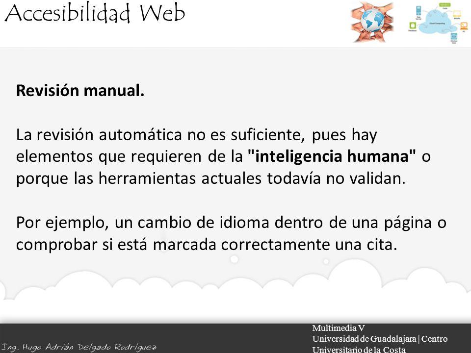Accesibilidad Web Revisión manual.
