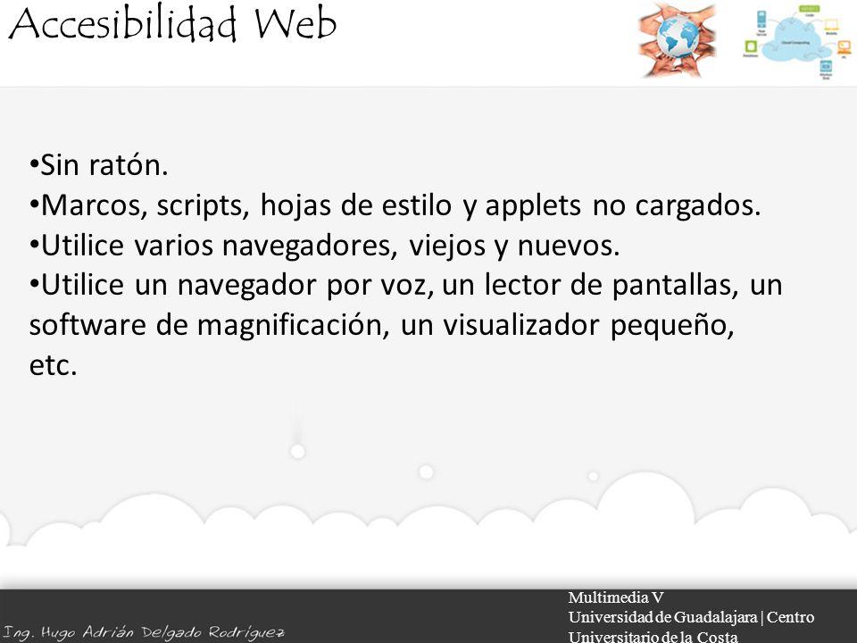 Accesibilidad Web Sin ratón.