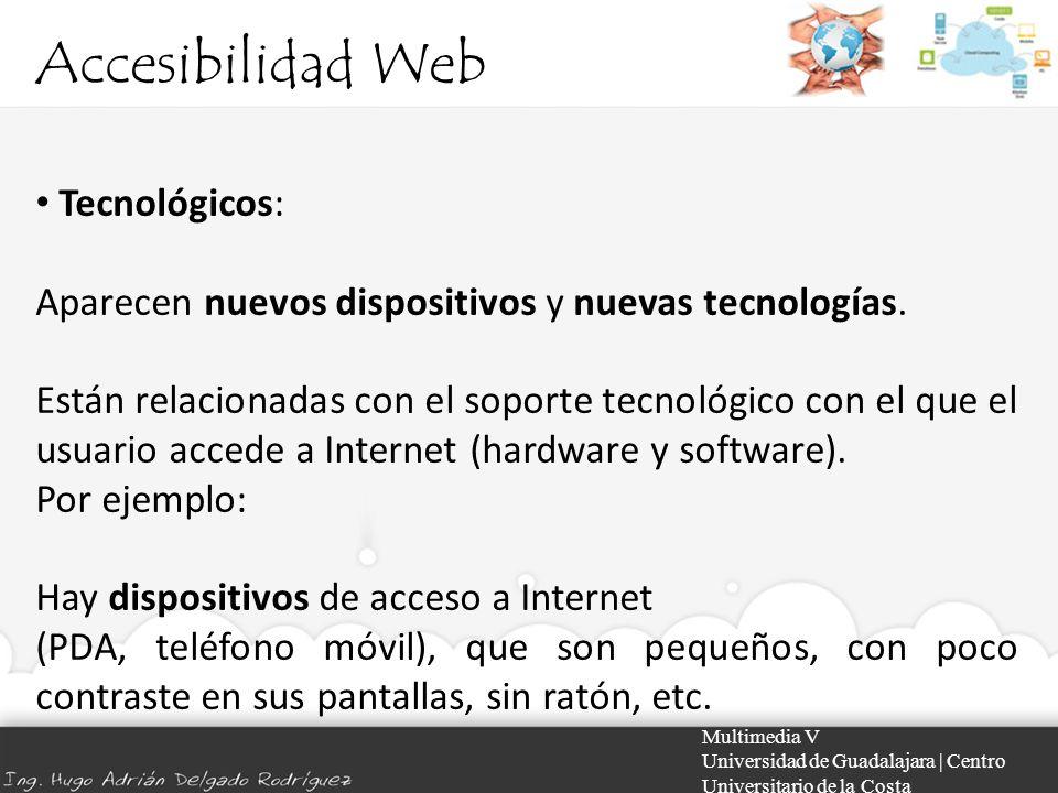 Accesibilidad Web Tecnológicos: