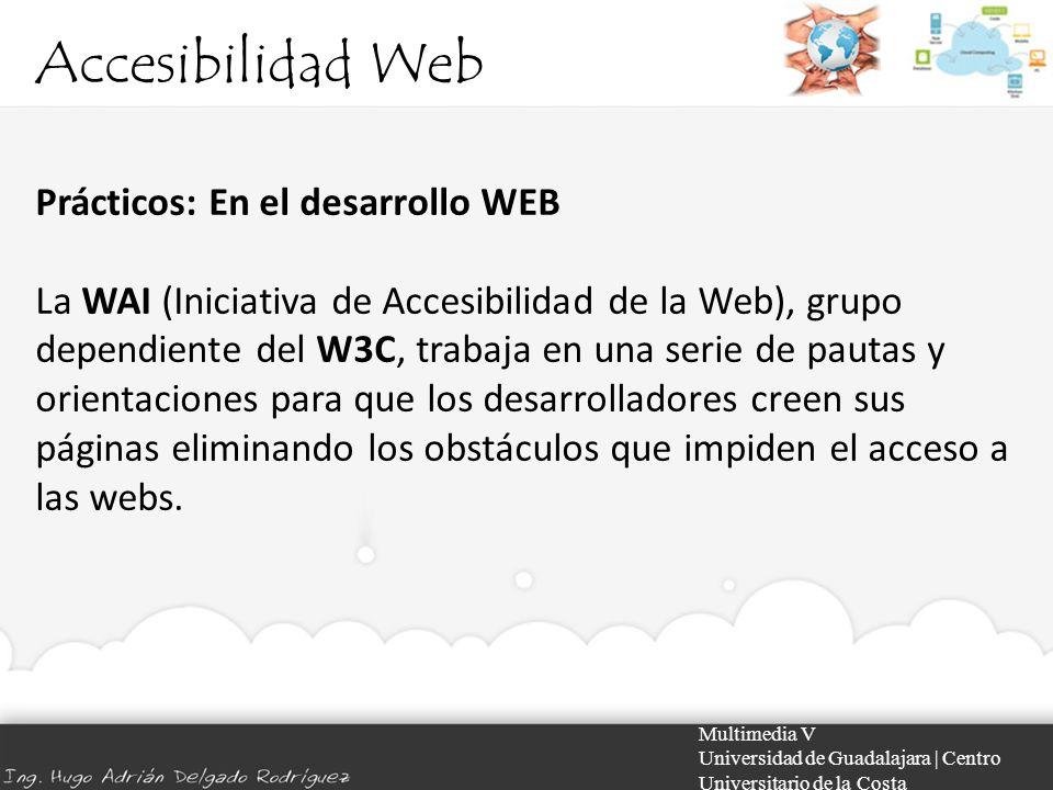 Accesibilidad Web Prácticos: En el desarrollo WEB