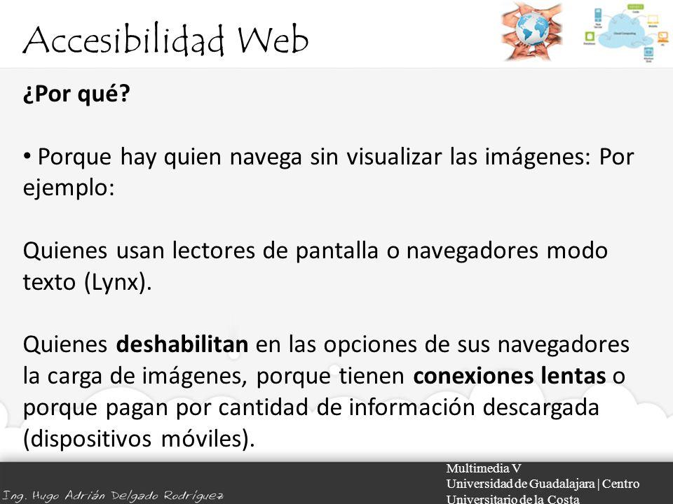 Accesibilidad Web ¿Por qué