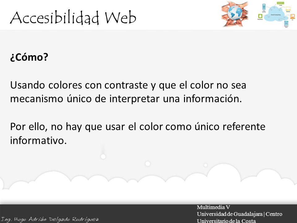 Accesibilidad Web ¿Cómo