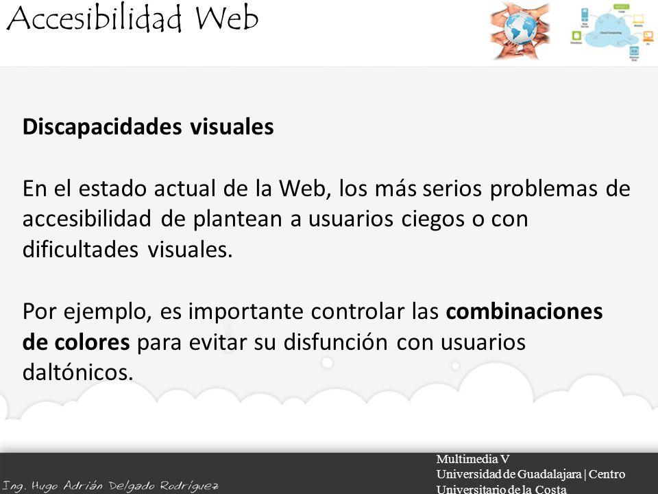 Accesibilidad Web Discapacidades visuales