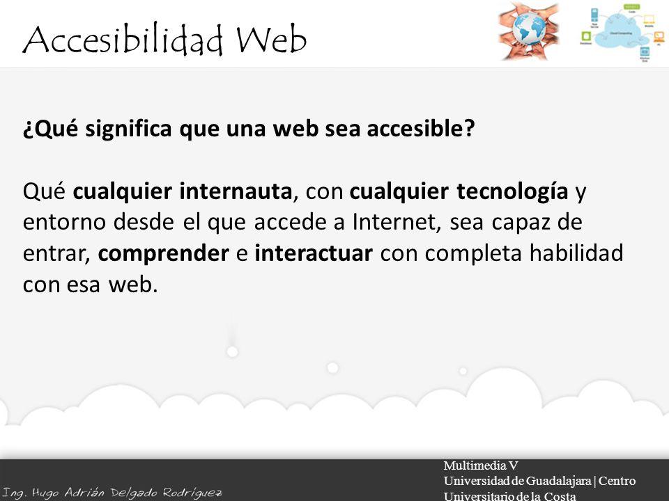 Accesibilidad Web ¿Qué significa que una web sea accesible