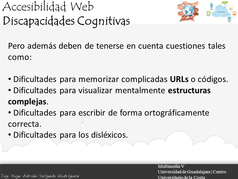 Discapacidades Cognitivas