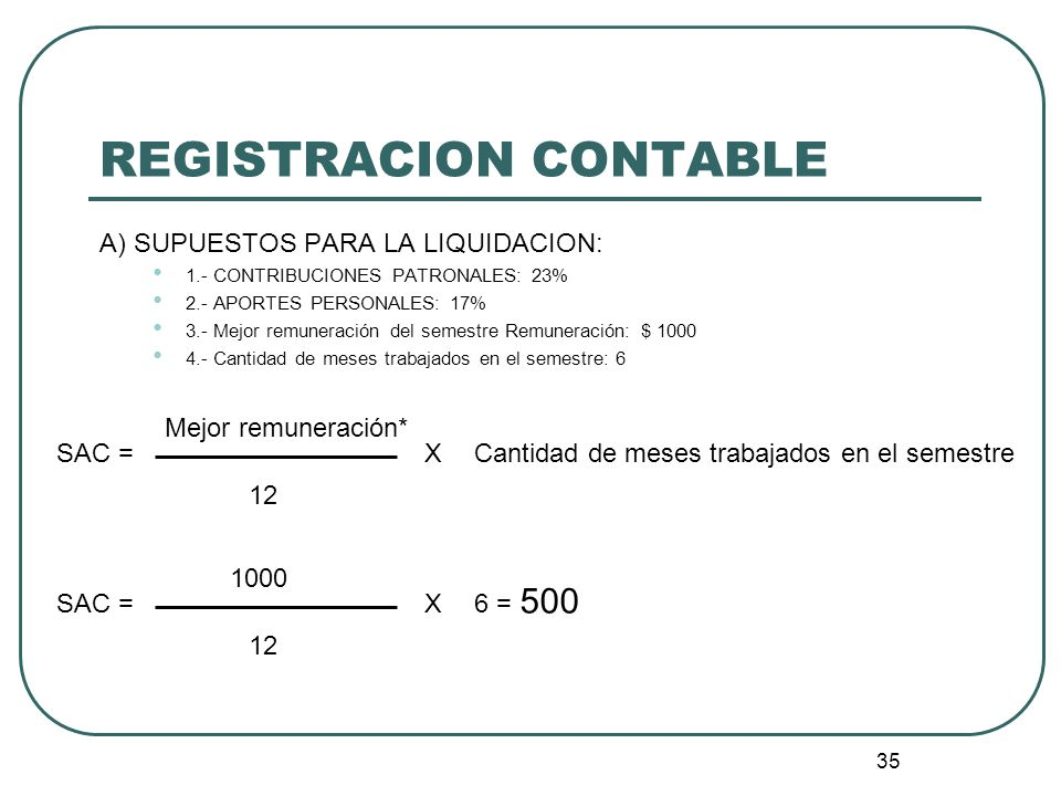 REGISTRACION CONTABLE