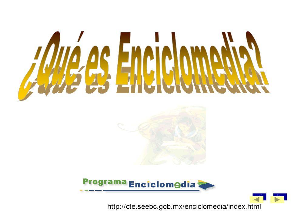 ¿Qué es Enciclomedia