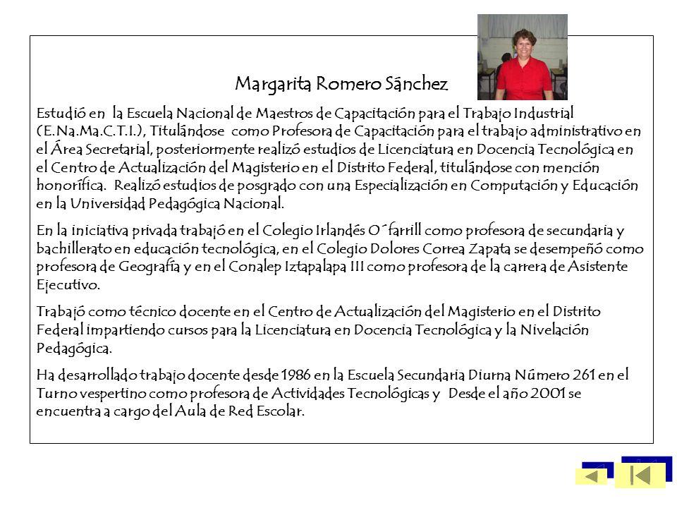 Margarita Romero Sánchez