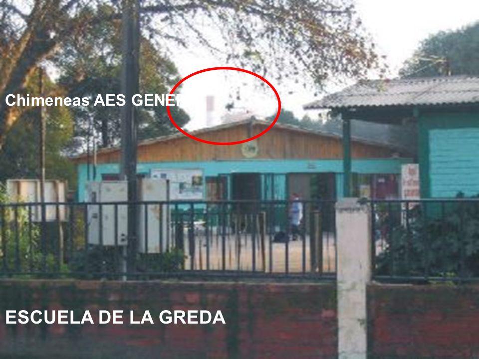 Chimeneas AES GENER ESCUELA DE LA GREDA