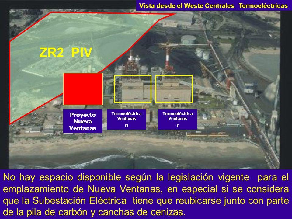 Vista desde el Weste Centrales Termoeléctricas
