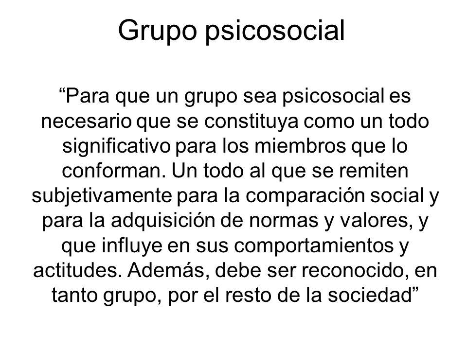 Grupo psicosocial