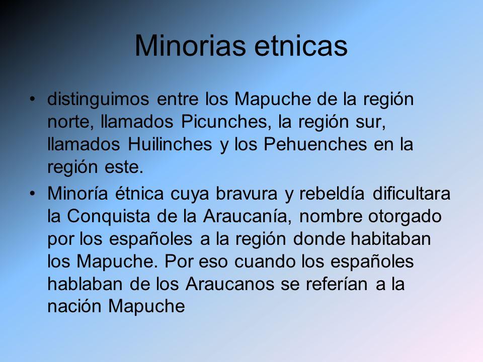 Minorias etnicas