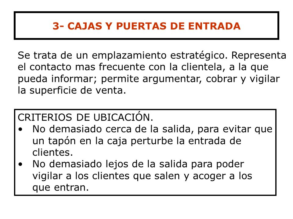 3- CAJAS Y PUERTAS DE ENTRADA