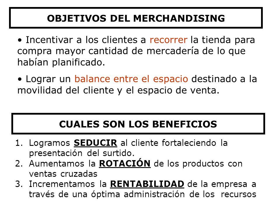 OBJETIVOS DEL MERCHANDISING CUALES SON LOS BENEFICIOS