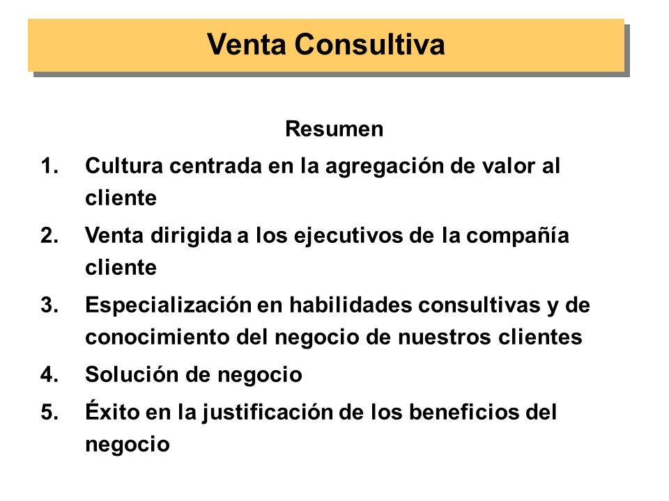 Venta Consultiva Resumen